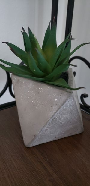 Fake succulent geometric house plant for Sale in Tampa, FL