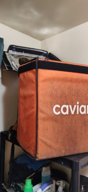 Caviar delivery backpack for Sale in Chicago, IL