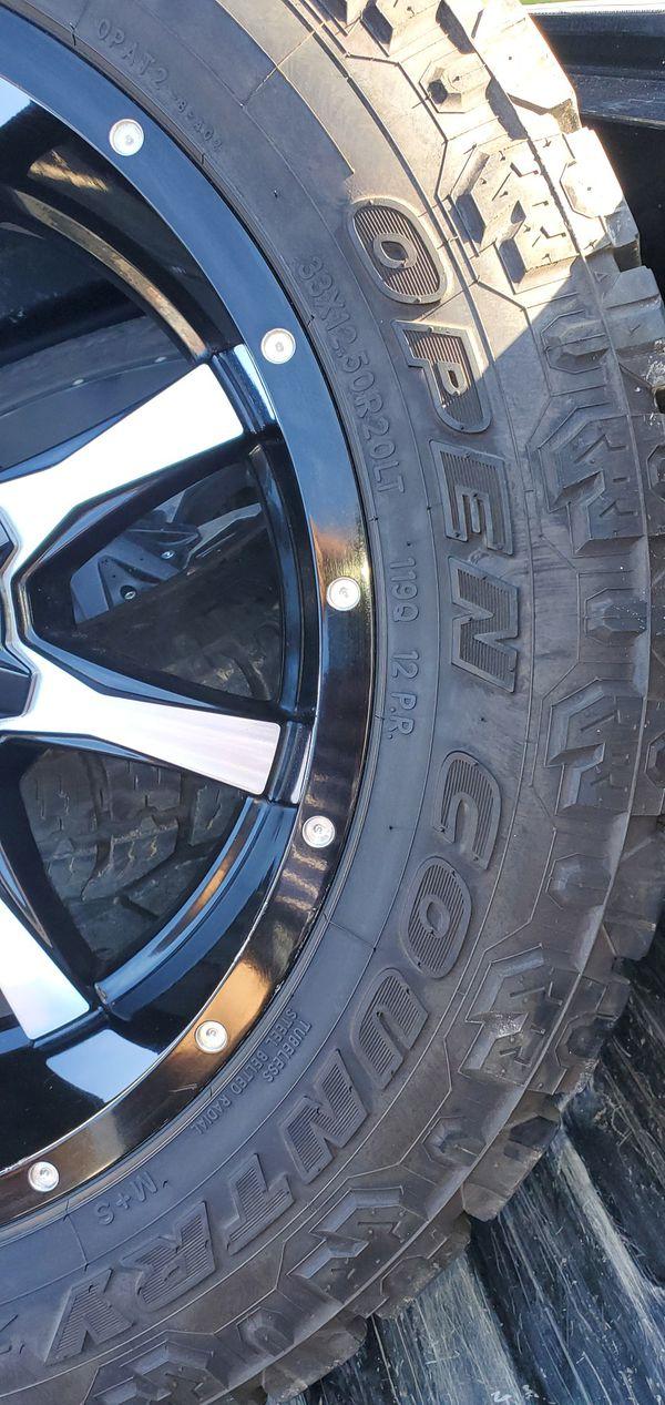 Moto metal rims 20x10