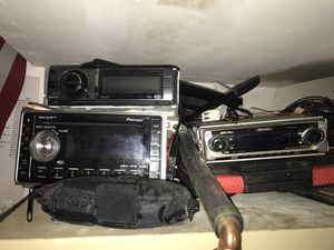 Radios, speakers, amps for Sale in Tampa, FL