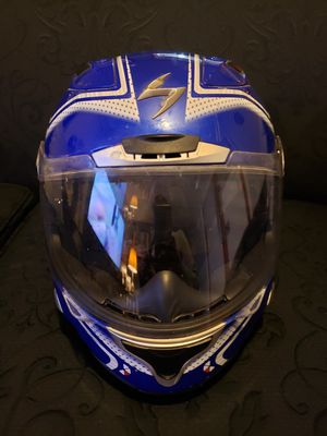 Scorpion Exo Helmet - Solid & intact. No cracks.interior really cushy. for Sale in Blue Island, IL