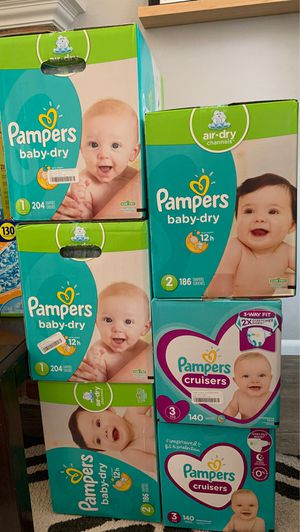 Pampers Diapers RESTOCK!! for Sale in San Diego, CA