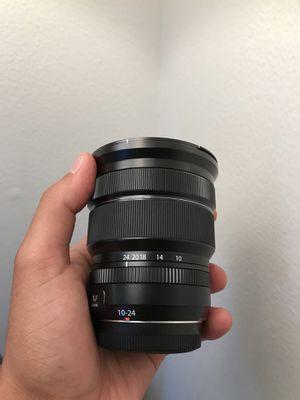 Fujifilm XF 10-24mm lens for Sale in Austin, TX