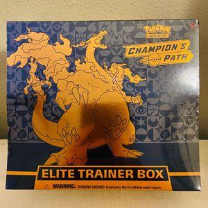 Pokemon Cards: Champion's Path Elite Trainer Box for Sale in Irvine, CA