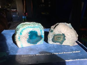 Stone rock candle holders for Sale in Round Rock, TX