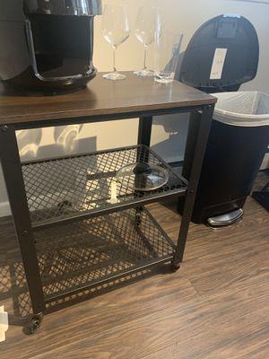 Kitchen appliance storage table for Sale in Philadelphia, PA