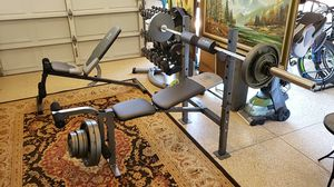 Gold's Gym 6.1 workout bench for Sale in Orange, CA
