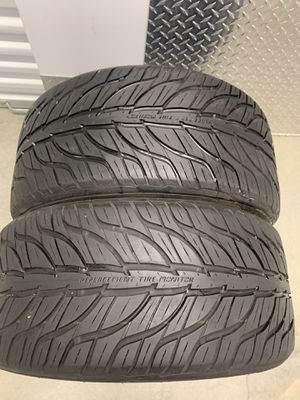 255 40 18 General GT Max a/s 3 pair of 2 tires for Sale in Manassas, VA