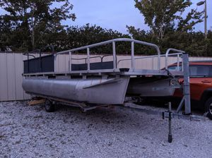 Professional Custom built 18x8 Pontoon Boat for Sale in Sarasota, FL