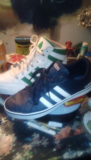 2 pair of adidas for Sale in Stockton, CA