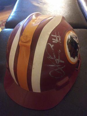 Redskins Hard Hat Helmet Autographed for Sale in Gaithersburg, MD