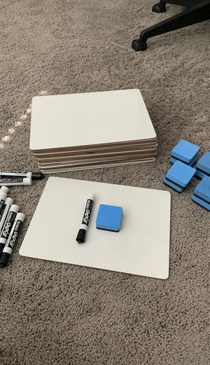 Classroom Whiteboards, Expo Markers & Erasers for Sale in Highland, UT