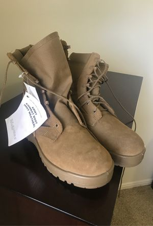 Military boots 9 wide for Sale in West Jordan, UT