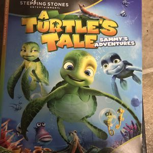A Turtle's Tale Sammy's Adventures Dvd Movie for Sale in Elma, WA