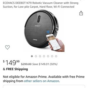 Deebot N79 Robot Vacuum for Sale in Chicago, IL