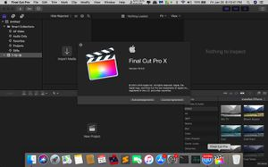 Final Cut Pro 10.4.5 Latest Version for Sale in Charlotte, NC