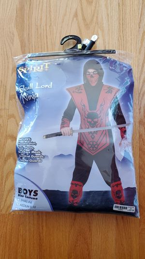 Ninja Costume size Youth M (8-10) for Sale in Woburn, MA