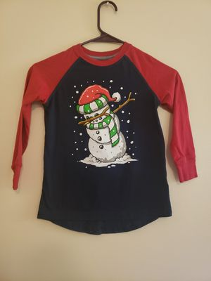 XS children dapping snowman long sleeve for Sale in Madison Heights, VA