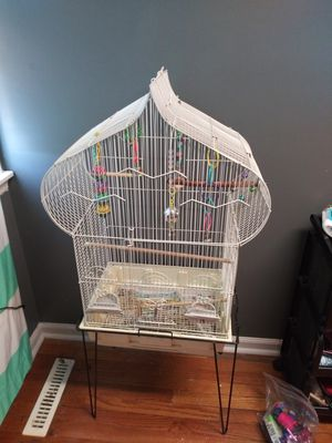 Bird cage and stand for Sale in Smyrna, TN