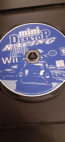 Mini DESKTOP Racing (Nintendo Wii + Wii U) for Sale in Lewisville,  TX