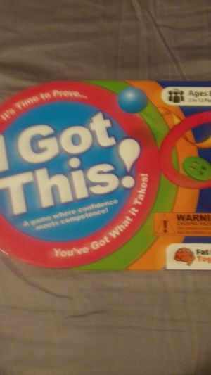 game is called I got this! for Sale in Rowlett, TX