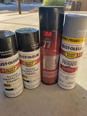 Spray cans for Sale in Tucson, AZ