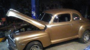 1948 Ford Coupe 350 Chevy motor and transmission for Sale in Holly, MI