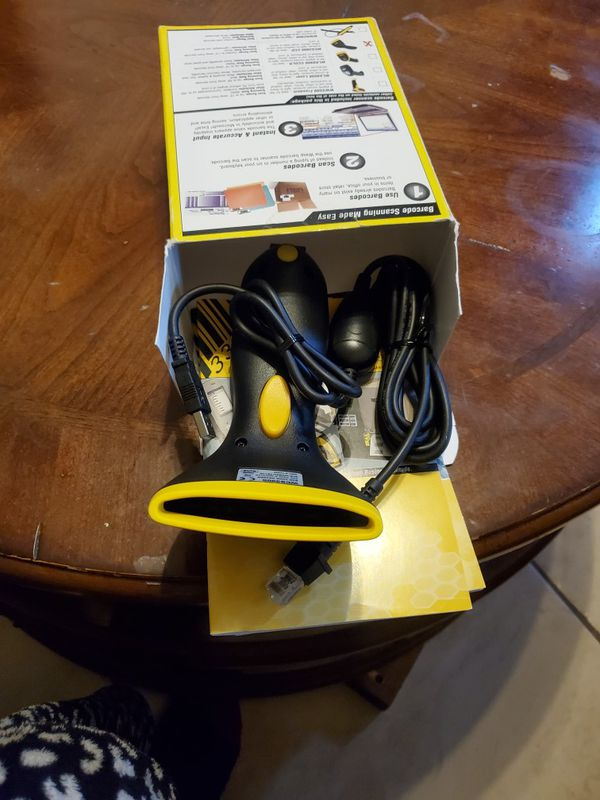 BRAND NEW WASP BARCODE SCANNER WCS3900 CCD BARCODE SCANNER