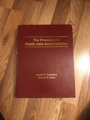 The Principles of Health Care Administration for Sale in Grand Terrace, CA
