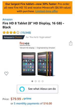 Fire HD tablet for Sale in Whittier, CA