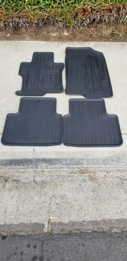 Honda Accord All Weather Floor Mats for Sale in West Covina, CA