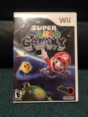 Mario Galaxy Wii Great Condition for Sale in Salisbury, MD