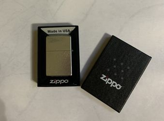 Zippo Lighter, Street Chrome, new for Sale in Snohomish,  WA