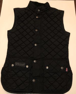 Belstaff Quilted Black Vest Small/40 for Sale in Mount Rainier, MD