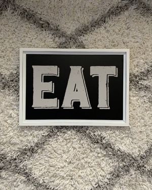 "Farmhouse ""EAT"" sign for Sale in Le Mars, IA"