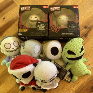 Nightmare Before Christmas Dorbz & Mopeez for Sale in Lake Stevens, WA