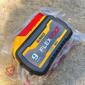 New DeWalt FLEXVOLT 9Ah Battery (Second Generation) for Sale in Modesto, CA