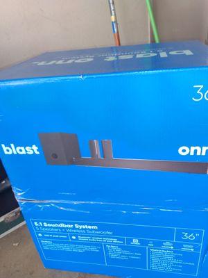 Blast onn soundbar wireless for Sale in Banning, CA