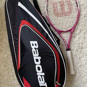 Tennis Bag And One Racket for Sale in Seattle, WA