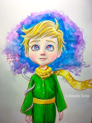 The little Prince Drawing for Sale in Centerville, GA