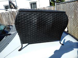 Basket/ hamper color black 16 H-20 W-15 D in inches for Sale in Miami, FL