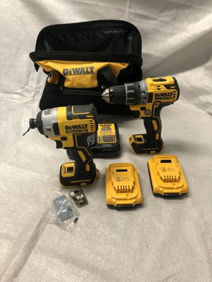 DeWalt Brushless Drill Driver/Impact XR combo for Sale in Fontana, CA