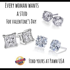 Diamond earrings - all sizes, shapes and styles ! Best prices in Northern Va! Don't pay retail! for Sale in Manassas, VA