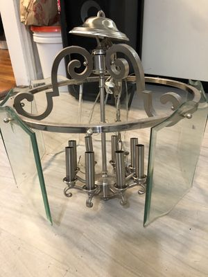 Glass chandelier for Sale in Floral Park, NY