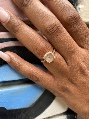 Engagement Ring: Morganite for Sale in Norcross, GA