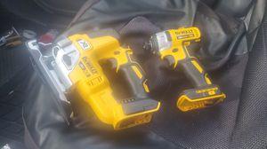 Dewalt XR impact and jigsaw 20 volt for Sale in Fort Lauderdale, FL