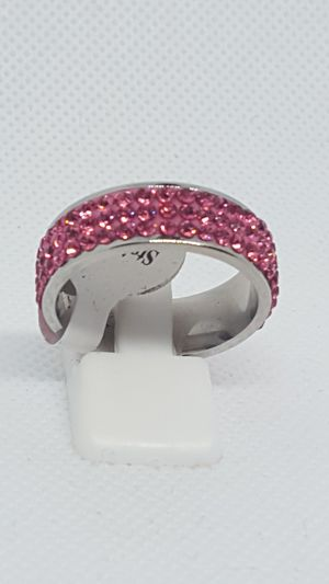 Brand new pink ice eternity rings. Never tarnish for Sale in St. Louis, MO