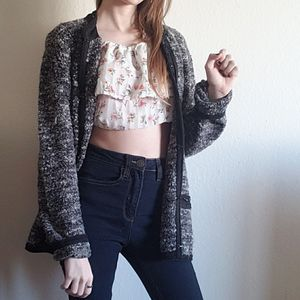 Anne Klein Marbled Black Party Sweater for Sale in Denver, CO