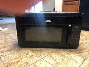 Whirlpool microwave range for Sale in Visalia, CA