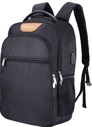 Laptop Backpack for Men and Women Water Resistant Travel Backpack with USB and Audio Port School Backpack with Anti-thief Pocket Suit for 17 Inch Lap for Sale in Piscataway, NJ